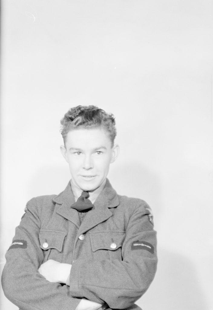 L.A.C. J.W. Smith, about 1940-1945