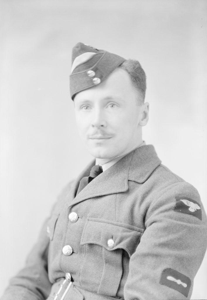 L.A.C. K.C. Correy, about 1940-1945
