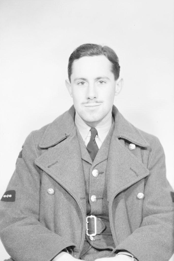L.A.C. W.J. Brighton, about 1940-1945