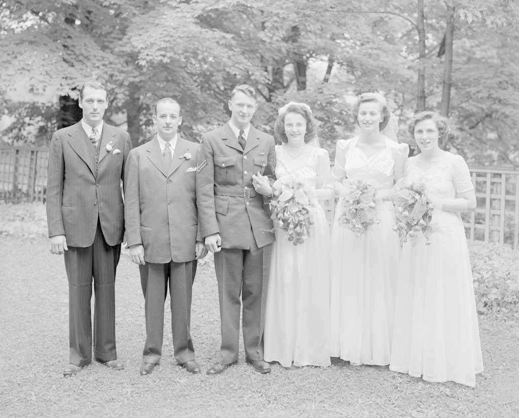 Lavis Wedding Party, about 1940-1945