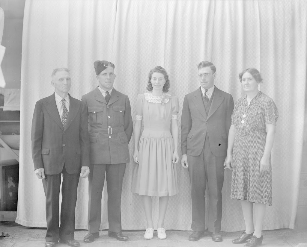 McPhee Family, about 1940-1945