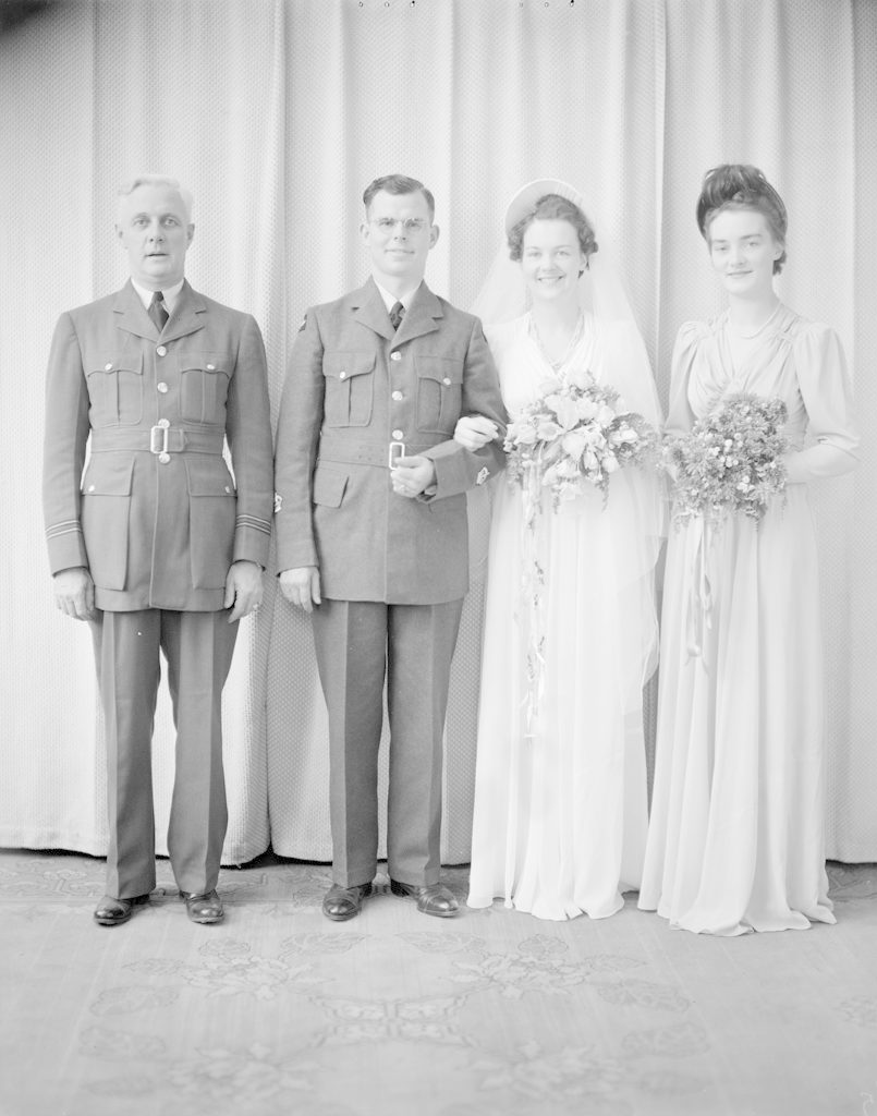 Mr. & Mrs. Balkwell, about 1940-1945