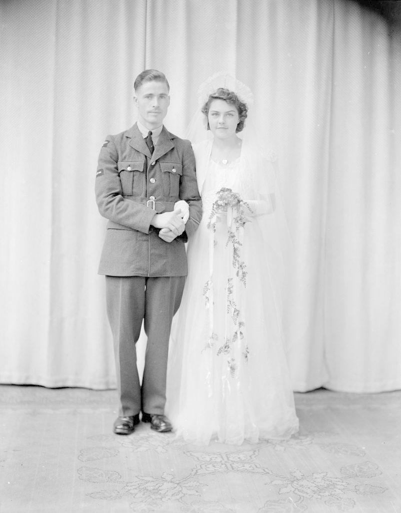 Mr. & Mrs. Barrington, about 1940-1945
