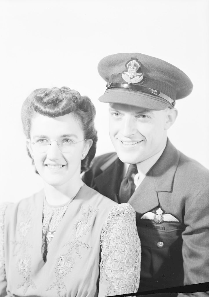 Mr. and Mrs. Hamilton, about 1940-1945