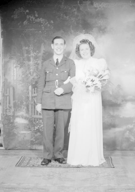 Mr. & Mrs. J. Wilson, about 1940-1945