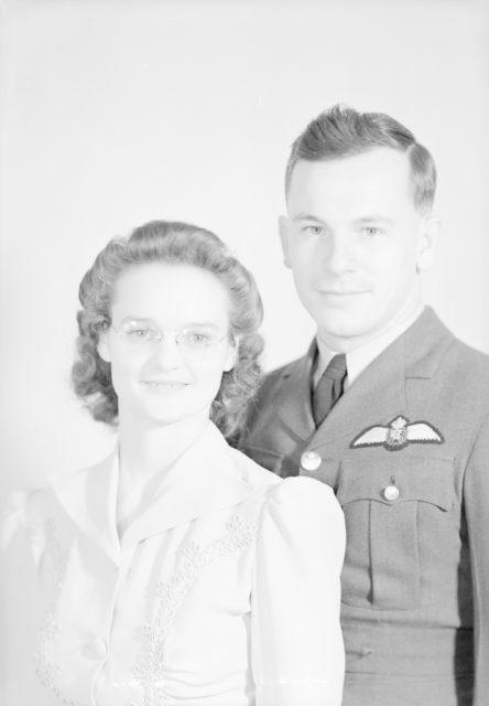 Mr & Mrs Lancaster, about 1940-1945