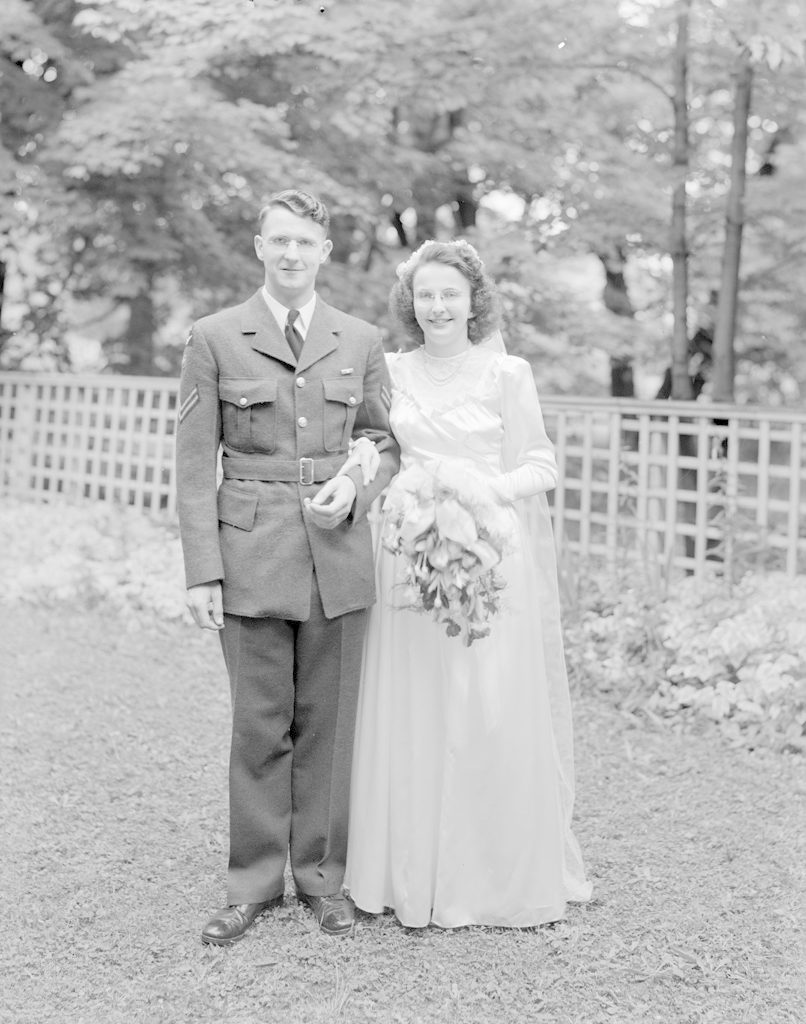Mr. and Mrs. Lavis, about 1940-1945