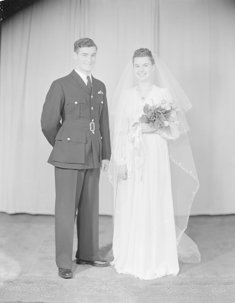 Mr. & Mrs. MacLean, about 1940-1945