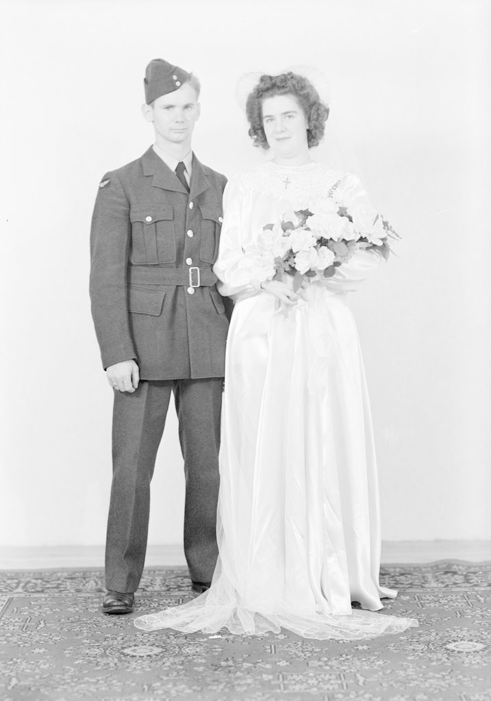 Mr. and Mrs. Sheppard, about 1940-1945
