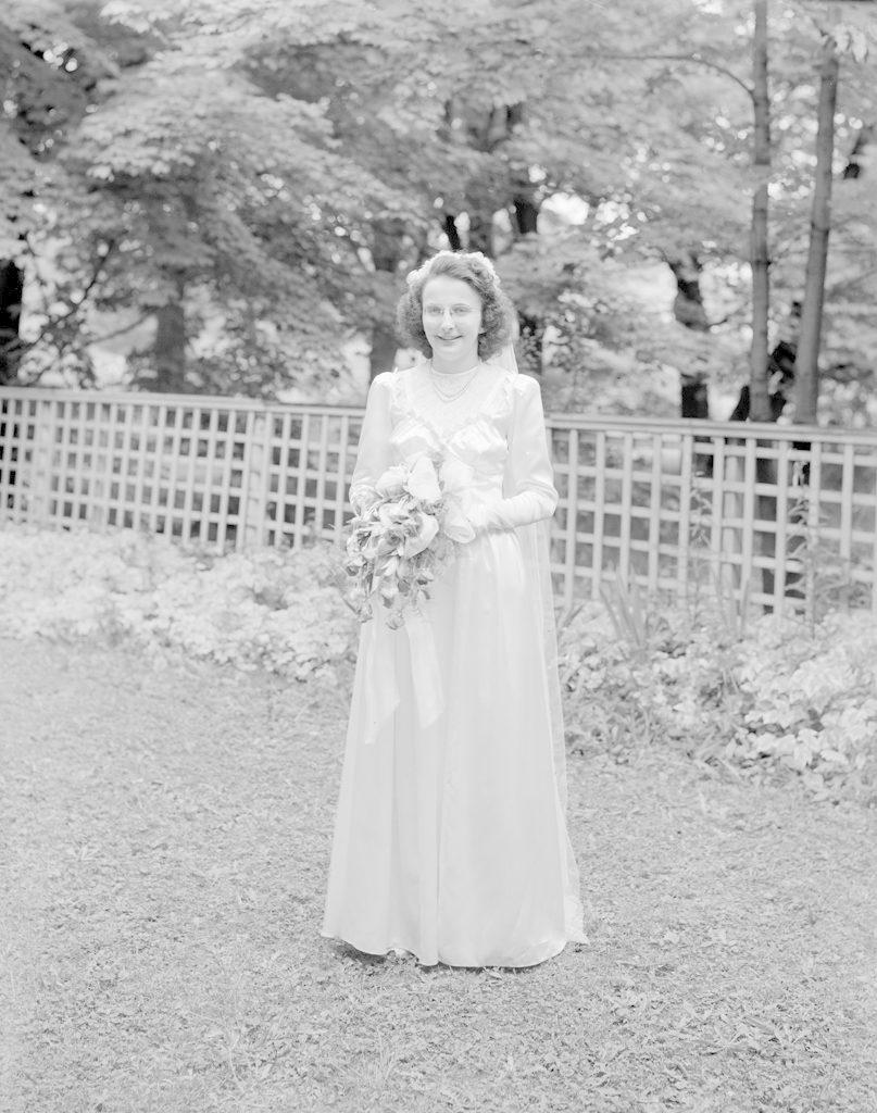 Mrs. Lavis, about 1940-1945