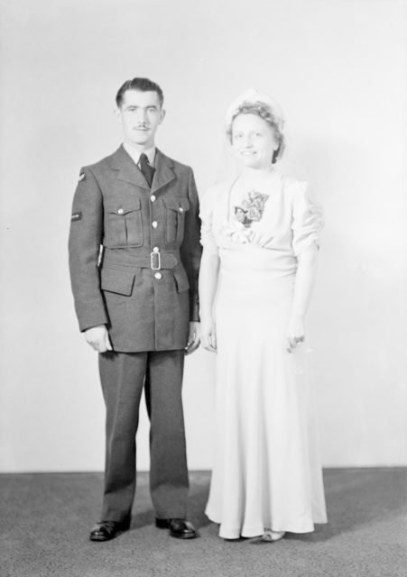 Mrs. W. Butler, about 1940-1945