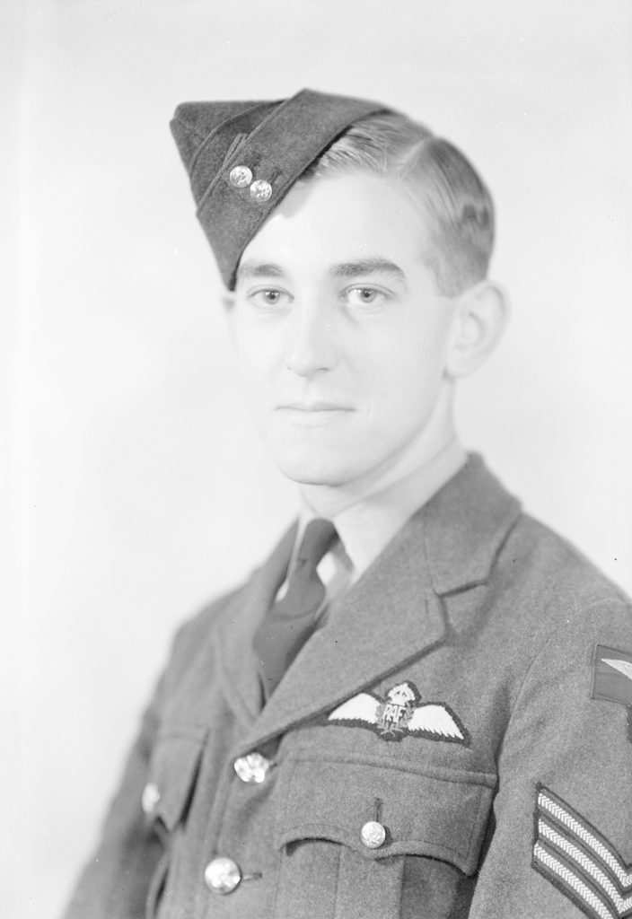 N.J. Usher Sgt., about 1940-1945