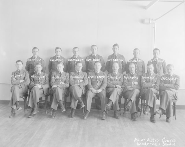No. 27 Astro Course, about 1940-1945