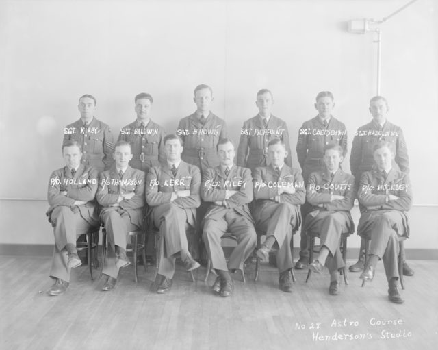 No. 28 Astro Course, about 1940-1945