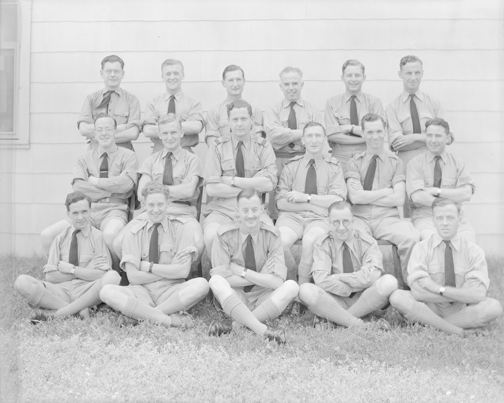No. 31 Radio School, Account Section, about 1941-1945