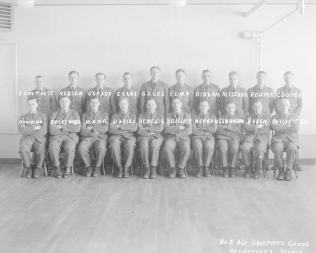 No. 5 Air Observer's Course, about 1940-1945