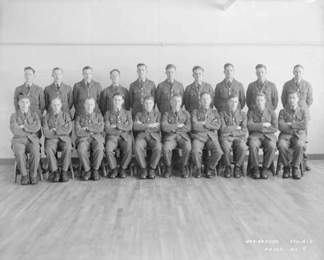 No.3 Air Observer Course, about 1940-1945
