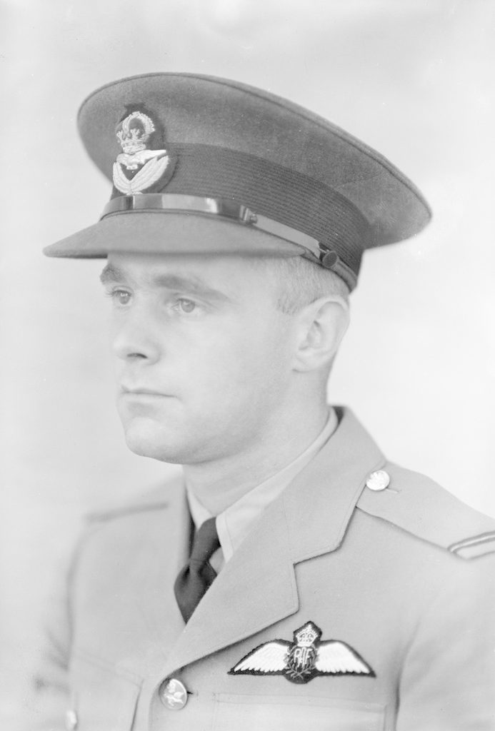 P/O D. Josey, about 1940-1945