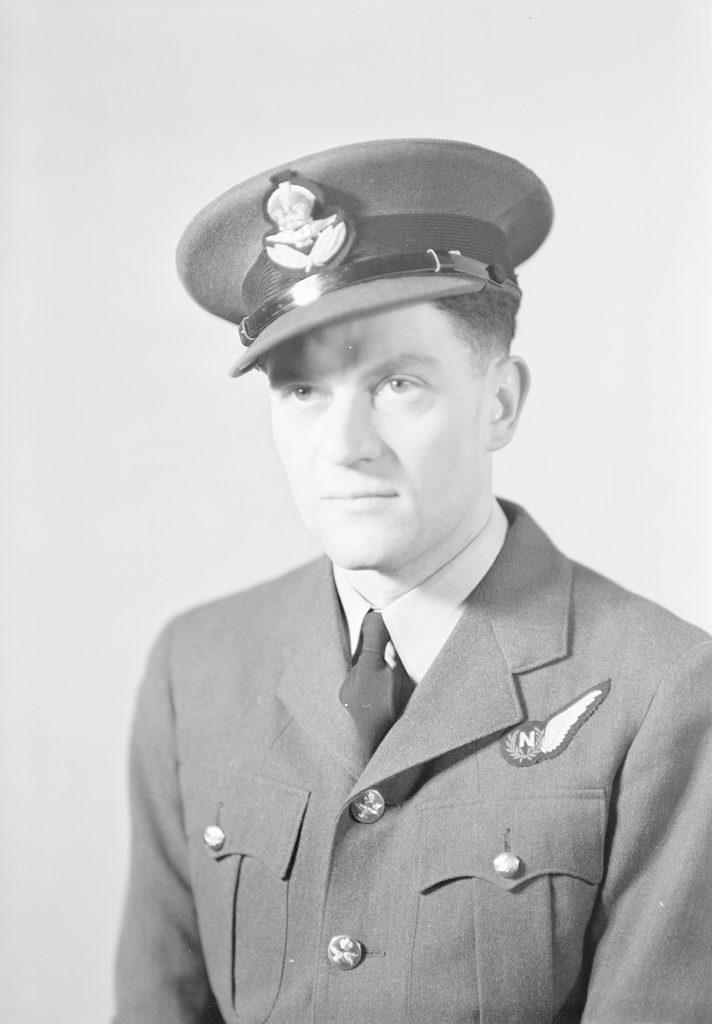P/O F. Ward, about 1940-1945