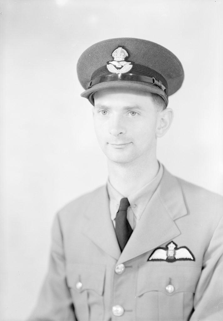 P/O L.A. Scott, about 1940-1945