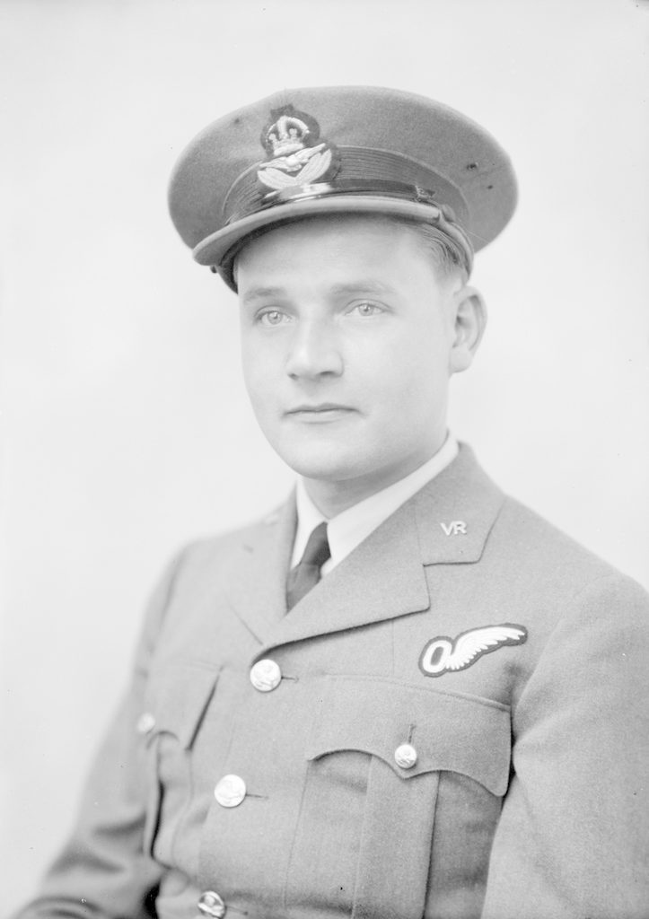 P/O M.K. Cleland, about 1940-1945