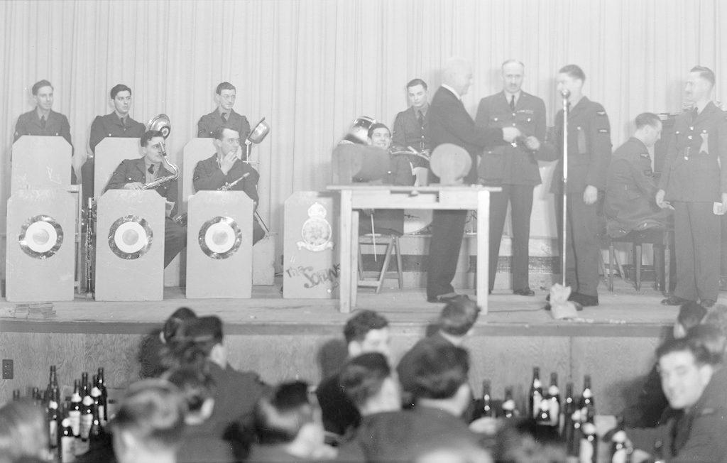 Хоккейная команда Порт-Альберта, о 1940-1945 годах