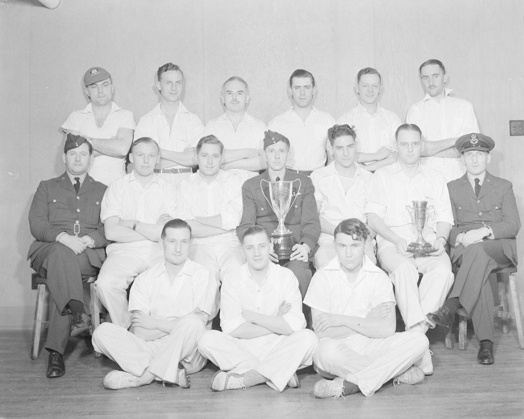 RAF  Cricket Team, about 1941-1945