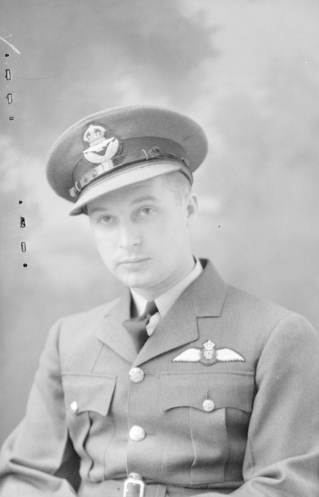 RCAF P/O L.R. Naftel, about 1940-1945