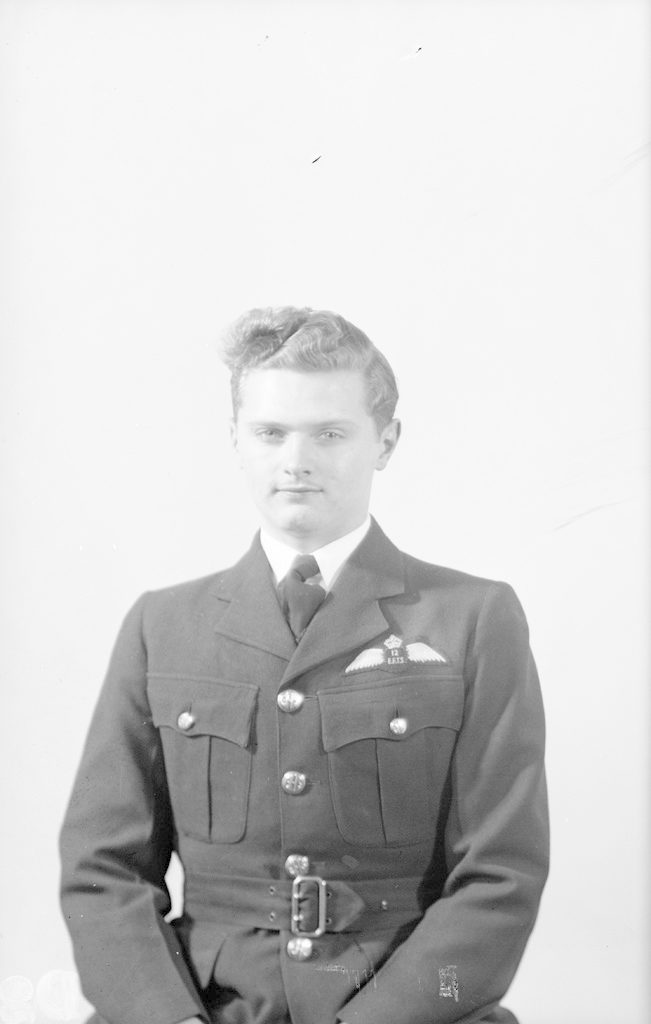 R.D. Bud Cornish, about 1940-1945