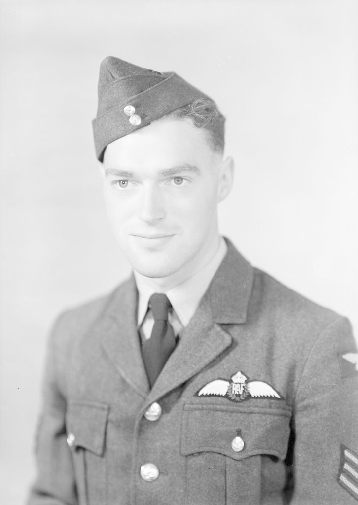 Sgt. G. N. Stanley, about 1940-1945
