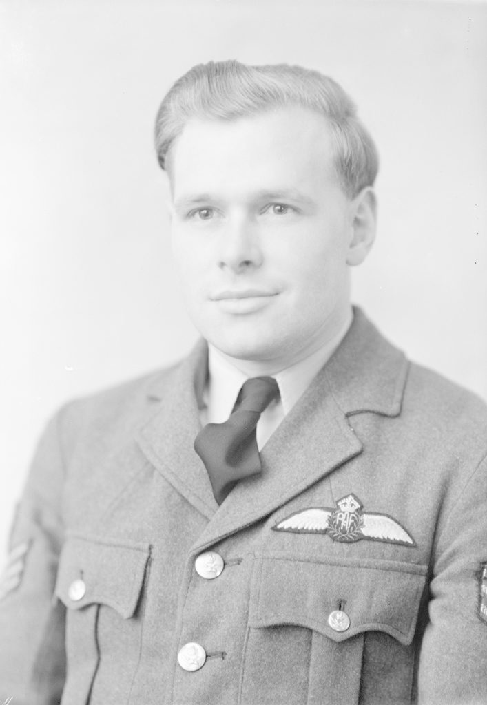 Sgt. J.Y. Struther, about 1940-1945