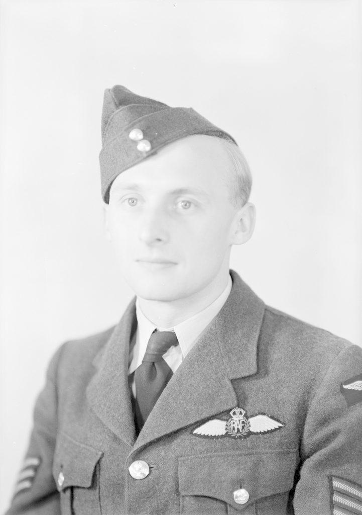 Sgt. Pilot Gibbs, about 1940-1945