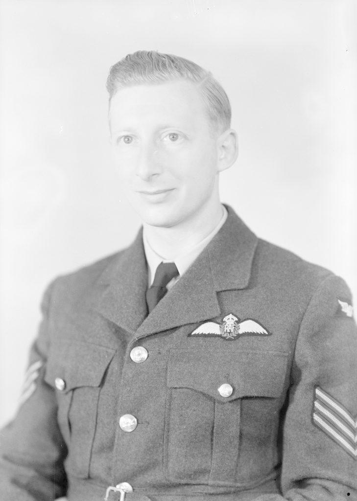Sgt. Pilot R. Timberlake, about 1940-1945
