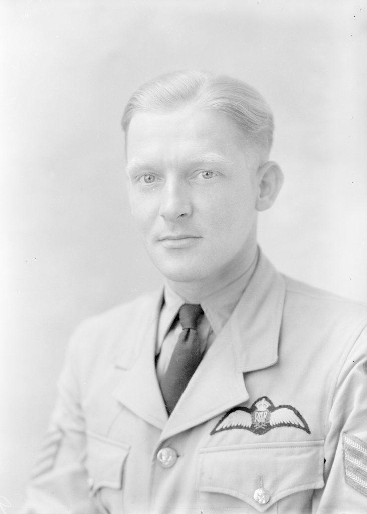 Sgt. Pilot Rushtin, about 1940-1945