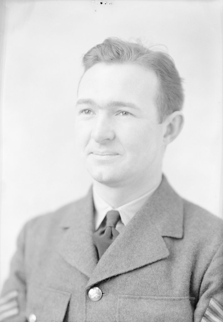 Sgt. R. Stokes, about 1940-1945