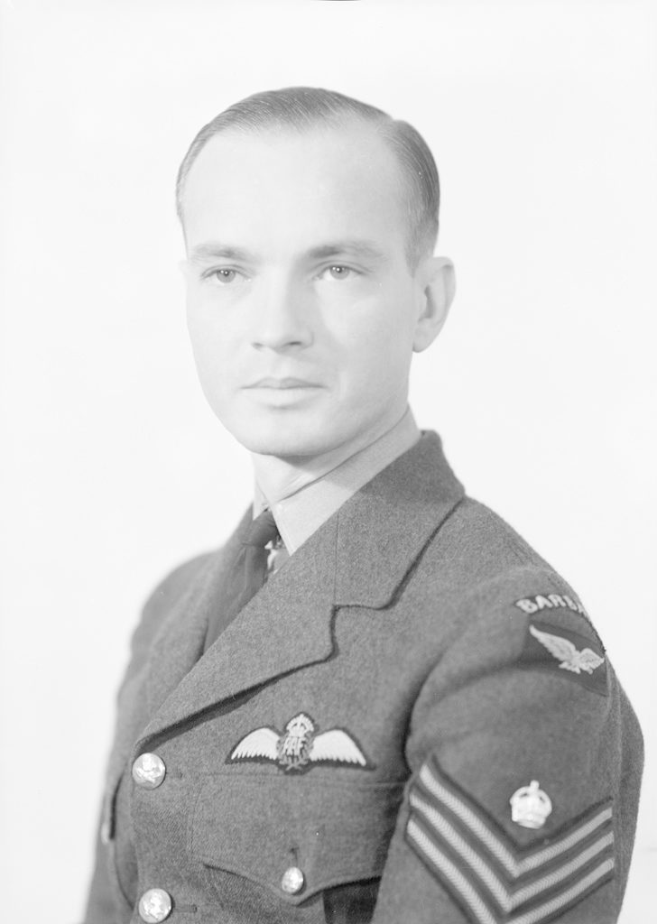 Sgt. R. Yearwood, about 1940-1945