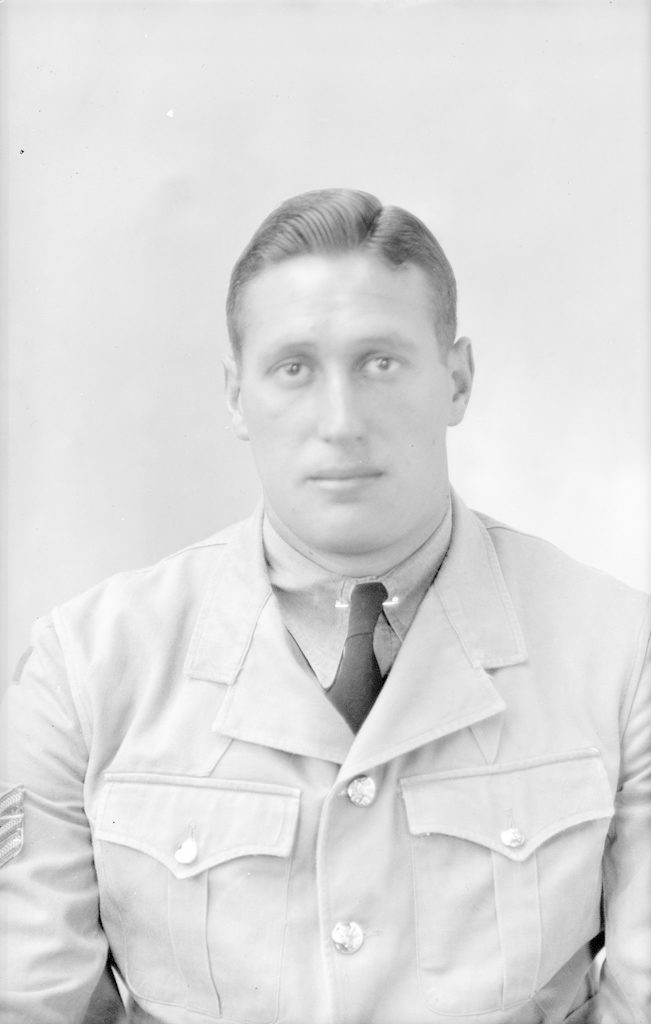 Sgt. Russell, about 1940-1945