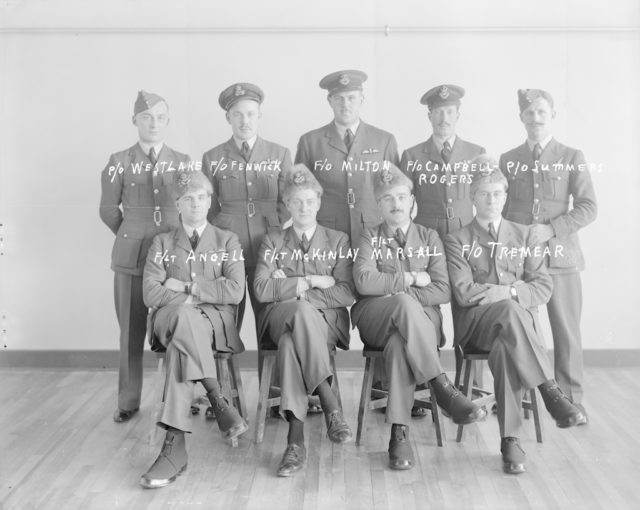 Sky Harbour Officers, about 1940-1945