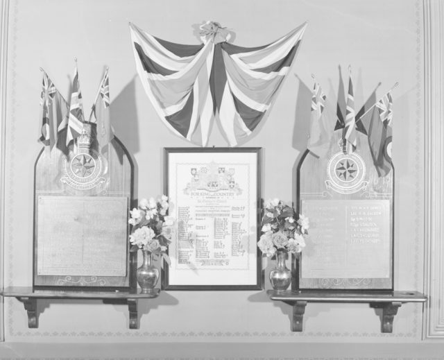 St. George Memorial Tablet, about 1940-1945