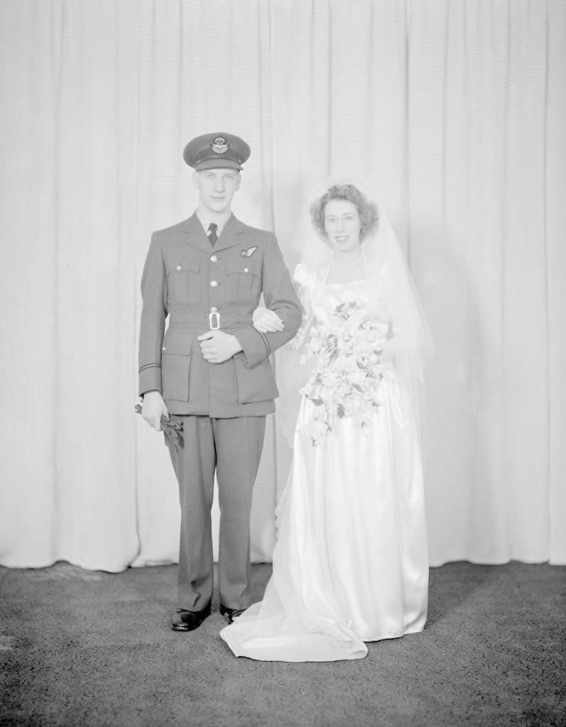 Tweedie Wedding, about 1940-1945