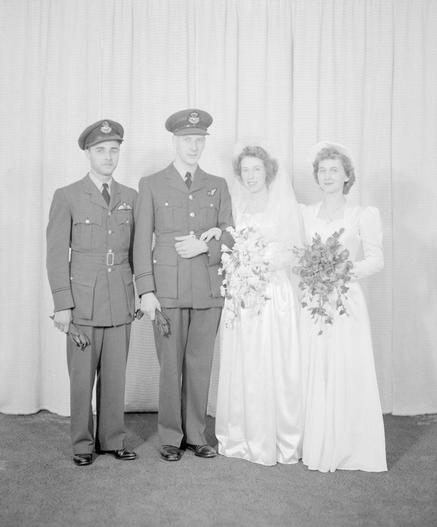 Tweedie Wedding Party, about 1940-1945