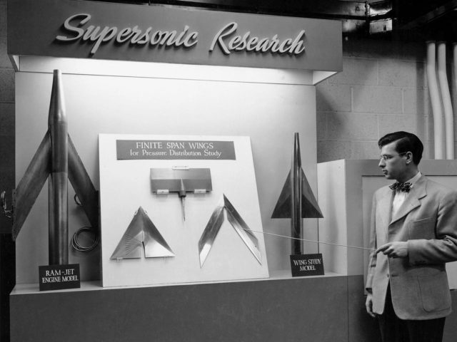 Supersonic Research Display for Tour