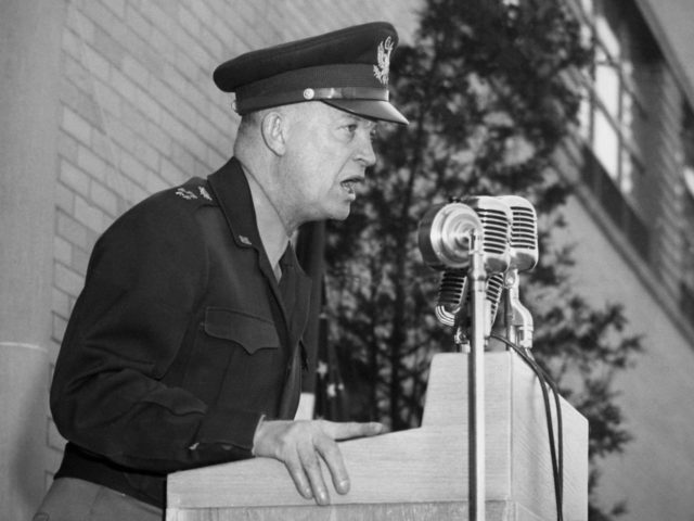 General Dwight Eisenhower Visits the Lewis Flight Propulsion Laboratory