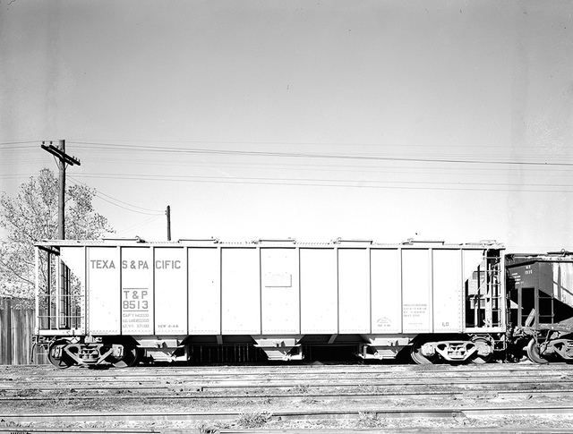 [Covered Hopper Car 8513, Texas & Pacific Railway Company]
