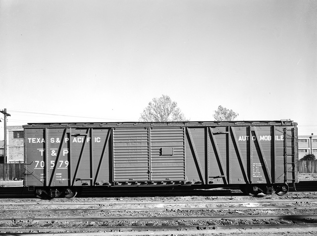 [Double Door Freight Car 70579 Automobile, Texas & Pacific Railway Company]