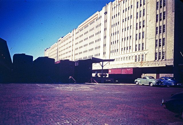 [Freight Cars, Warehouse, Texas & Pacific Railway Company]