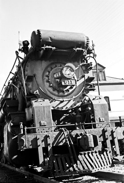 [Front of Locomotive 611, Texas & Pacific Railway Company]