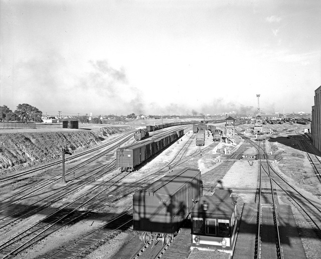 [Lancaster Classification Yard, Texas & Pacific Railway Company]