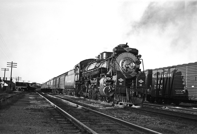 [Locomotive 721, Texas & Pacific Railway Company] - PICRYL ... Pacific Railway Company