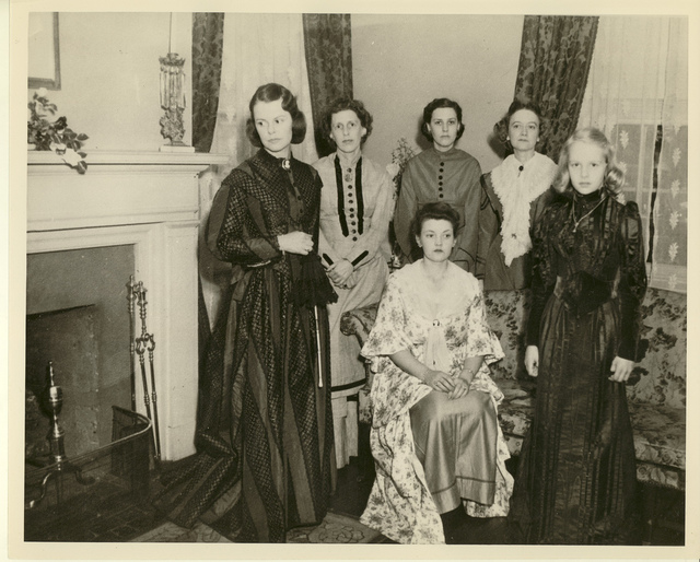 Women in the Front Parlor of the Manse